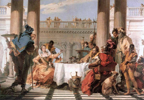 The Banquet of Cleopatra (Giovanni Battista Tiepolo)