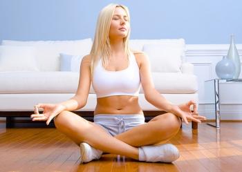 Медитация дома фото
