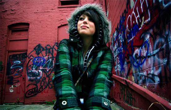Эмо-стиль распространяется даже на ваши фотографии!