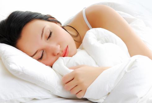 Попробуйте перед сном представлять себя на природе