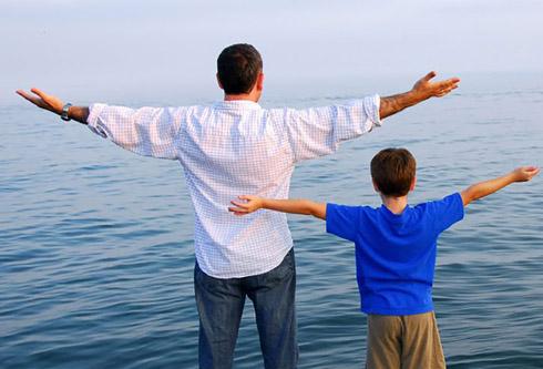 """Постарайтесь не пропустить """"внушаемый"""" возраст и помочь сыну!"""