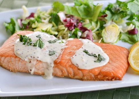Рыба - идеальный вариант для быстрого обеда