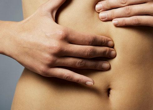 Самомассаж помогает снять спазм матки