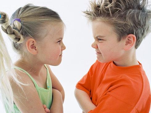 Никогда не выясняйте отношения при детях