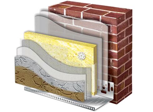 Стены утепляются в несколько слоев