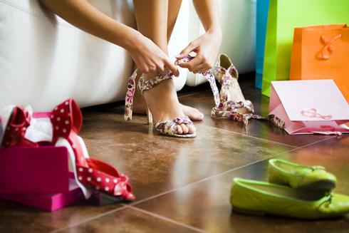 Не следует избегать обуви на каблуке