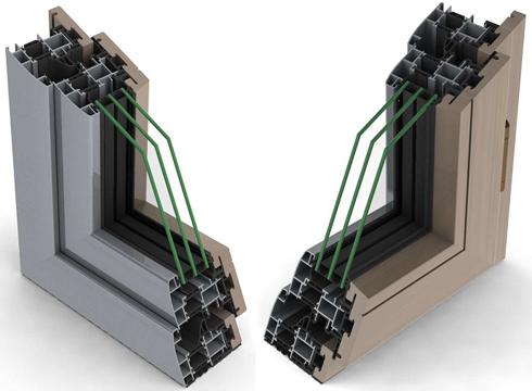 Стеклопакет и профиль окна выполняют основную функцию теплосбережения и шумоизоляции