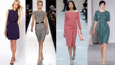 Найдите правильный баланс при выборе длины платья