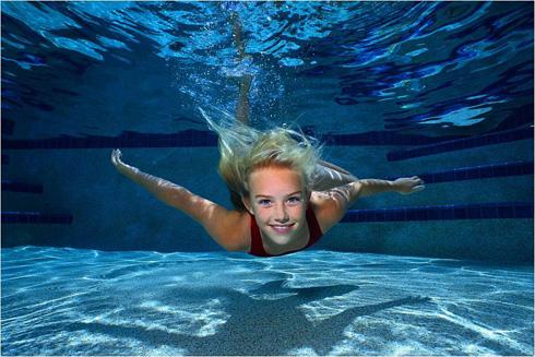 Занятия в бассейне способствуют укреплению организма
