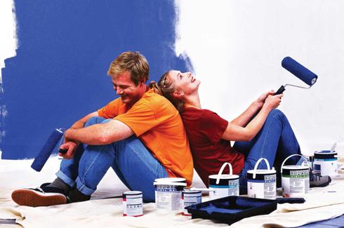 Как раскрасить стены?