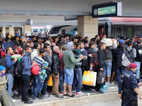 Многочисленные беженцы