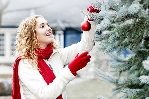 Если наряжать новгоднюю елку
