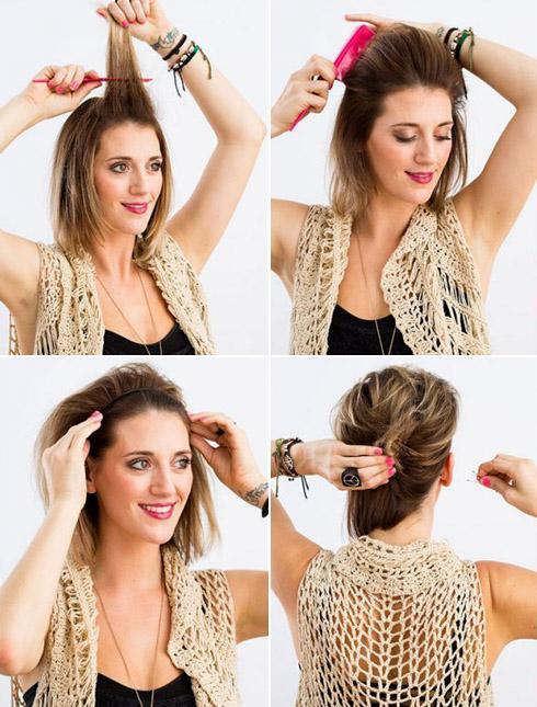 Как сделать начес на волосах?
