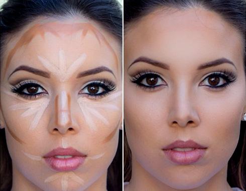 Контурирование лица - пошаговая инструкция