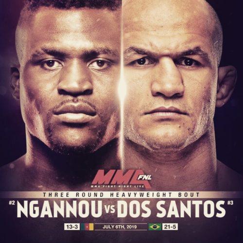 Где посмотреть видео боя Дос Сантос vs Нганну?